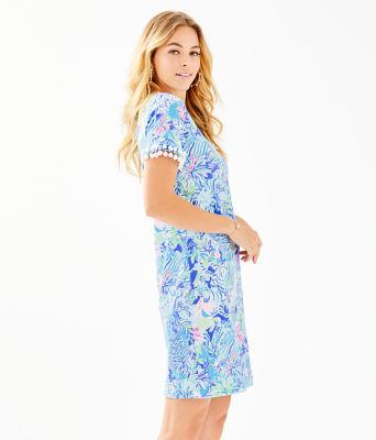 Lissie Dress, Coastal Blue Lion Around, large 2
