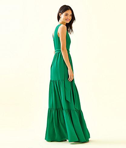 Maurine Maxi Dress, Emerald Isle, large 2