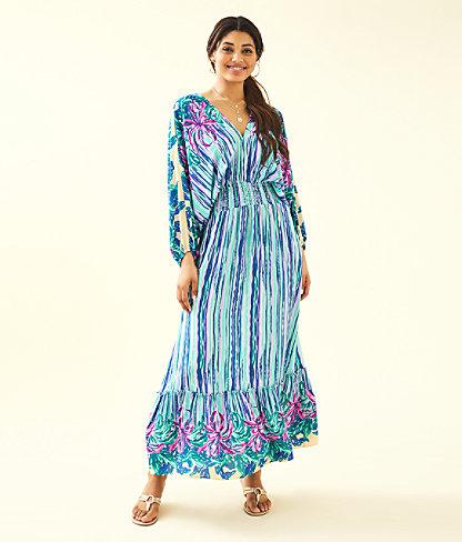 Alisha Midi Dress by Lilly Pulitzer