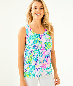 6f137c2d68a66a Women's Tunics & Shirts: Tops | Lilly Pulitzer