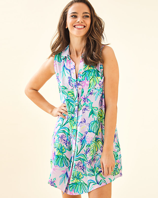Lilly Pulitzer Womens Natalie Coverup