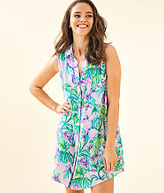 Sleeveless Natalie Cover-Up, Amethyst Tint Mermaid In The Shade, large