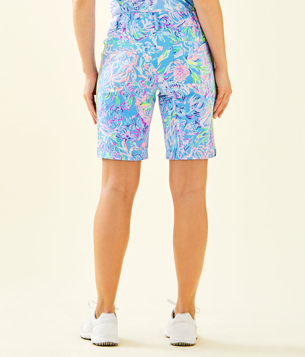 """UPF 50+ Luxletic 10"""" Bettina Golf Short, Multi All Together Now, large"""