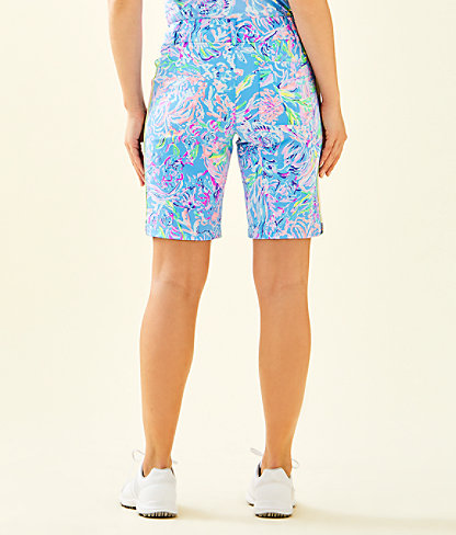 """UPF 50+ Luxletic 10"""" Bettina Golf Short, Multi All Together Now, large 1"""