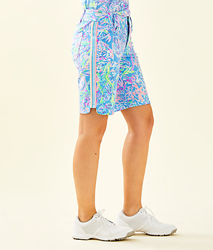 """UPF 50+ Luxletic 10"""" Bettina Golf Short, Multi All Together Now, large 2"""