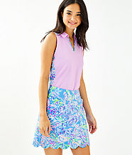 UPF 50+ Luxletic Monica Golf Skort, Multi All Together Now, large