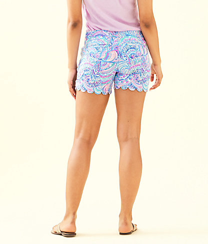 "5"" Buttercup Stretch Short, Multi Happy As A Clam, large 1"