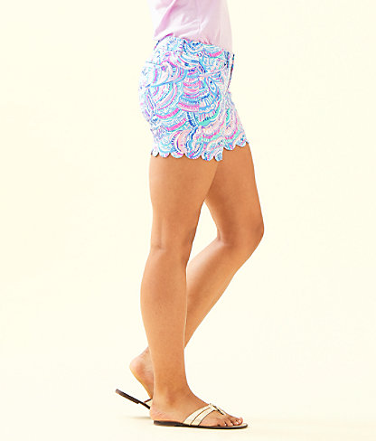"5"" Buttercup Stretch Short, Multi Happy As A Clam, large 2"