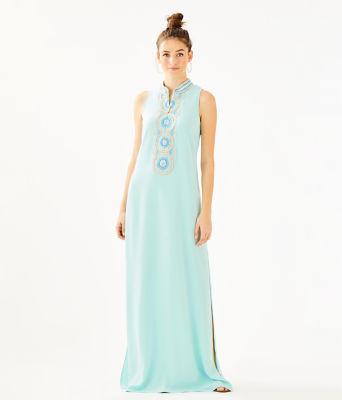 Jane Maxi Dress, Whisper Blue, large