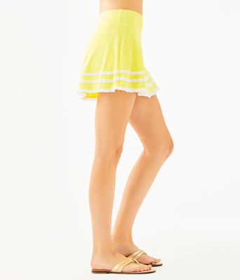 UPF 50+ Luxletic Fionna Skort, Watch Hill Yellow, large 2