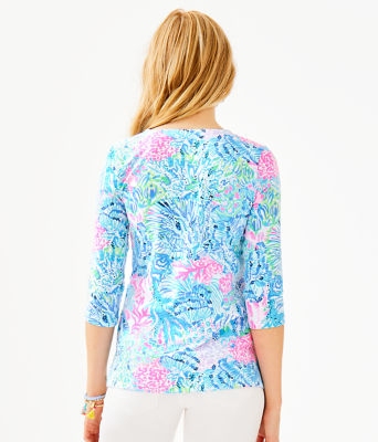 UPF 50+ ChillyLilly Karina Tunic, Multi Sink Or Swim Engineered Chilly Lilly, large 1