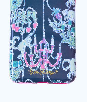 iPhone 7/8 Classic Case, Deep Indigo Pop Up Monkey Trouble 7/8 Classic, large