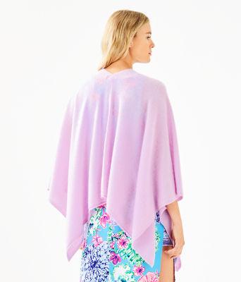Terri Cashmere Wrap, Lilac Freesia, large 1