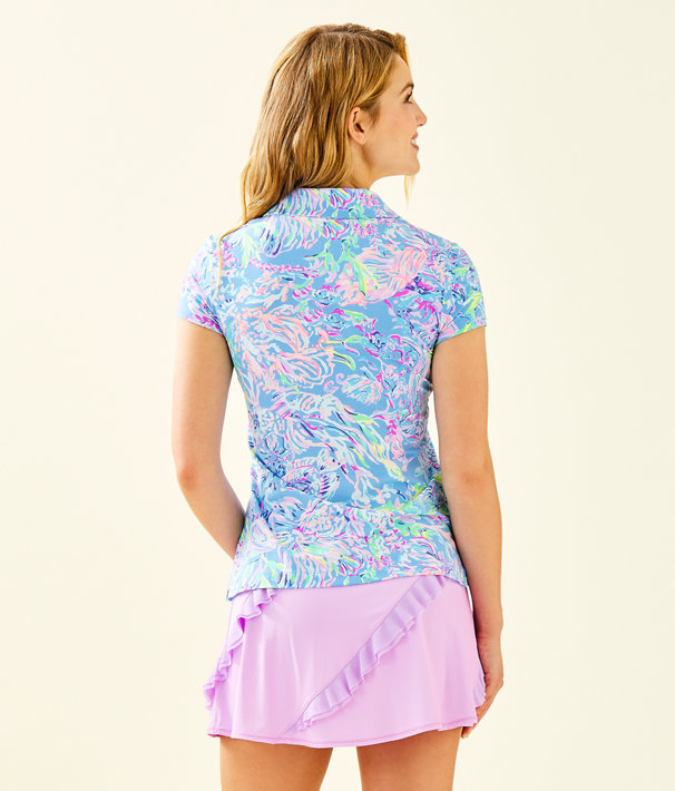 c31772b76a3f79 UPF 50+ Luxletic Frida Polo Top, Multi All Together Now, large ...