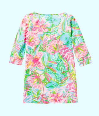 Girls Mini Marlowe Dress, Multi Pop Up Lilly Of The Jungle, large 1
