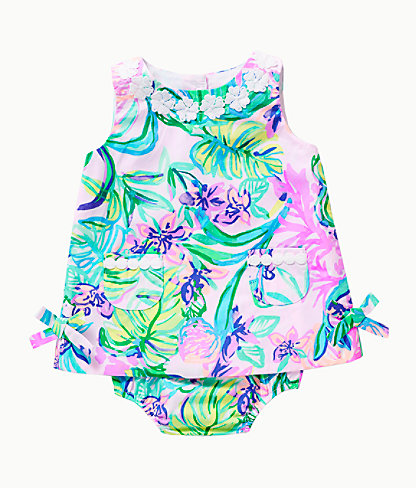 Baby Lilly Infant Shift Dress, Amethyst Tint Mermaid In The Shade, large 0