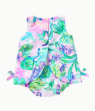 Baby Lilly Infant Shift Dress, Amethyst Tint Mermaid In The Shade, large
