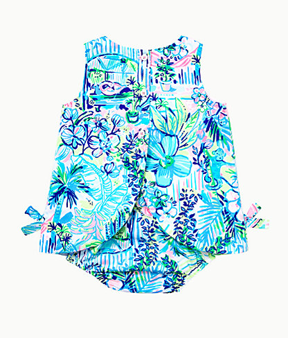 Baby Lilly Infant Shift Dress, Multi Lillys House, large 1