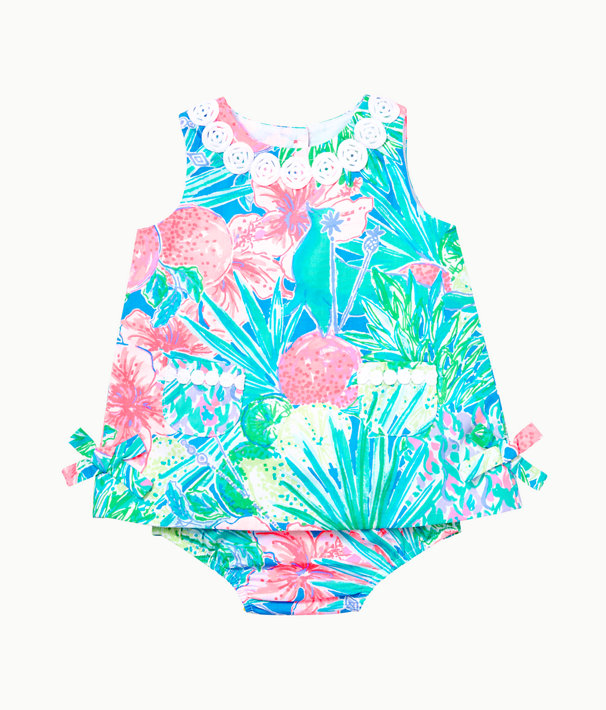Baby Lilly Infant Shift Dress, Multi Swizzle In, large