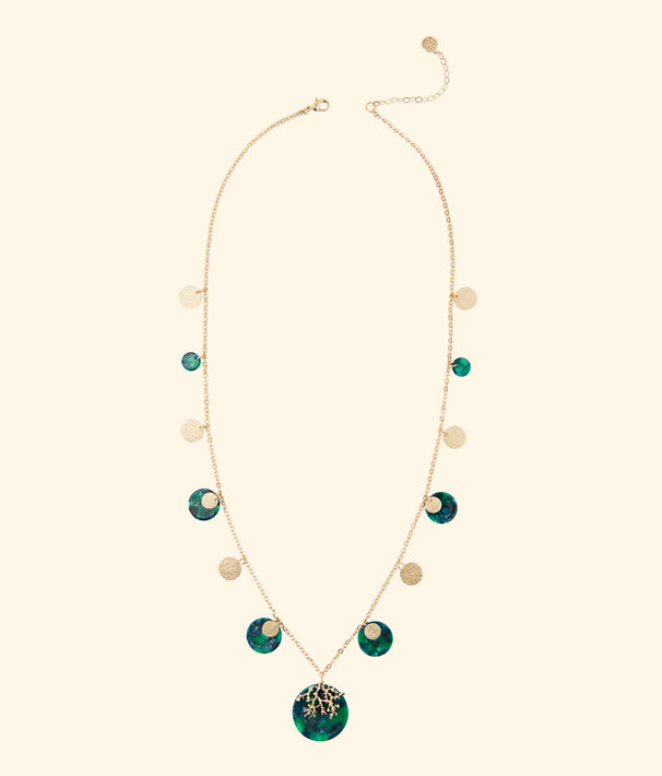 Coral Cove Necklace, Emerald Isle, large