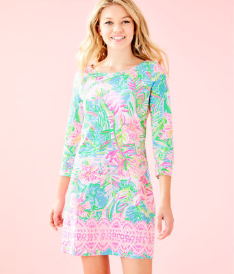 Hollee Dress, Multi Pop Up Lilly Of The Jungle Reduced Engin, large 0