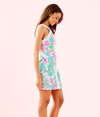 Vena Stretch Shift Dress, Multi Pop Up Lilly Of The Jungle, large 2