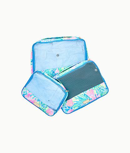 Sea Island Packing Cube Set, Multi Swizzle In, large 0