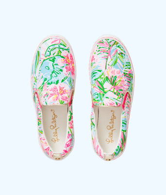 Julie Sneaker, Multi Pop Up Lilly Of The Jungle Accessories, large 0