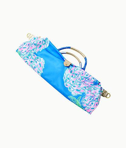 Whitleigh Packable Weekender Bag, Zanzibar Blue Swizzle Out Engineered Weekender, large 2
