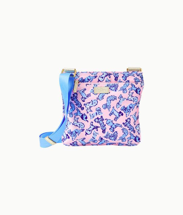 Pompano Crossbody Bag, Zanzibar Blue Ruff Night Accessories Small, large