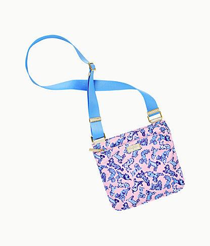 Pompano Crossbody Bag, Zanzibar Blue Ruff Night Accessories Small, large 1