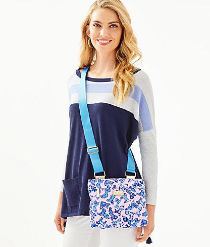 Pompano Crossbody Bag, Zanzibar Blue Ruff Night Accessories Small, large 2
