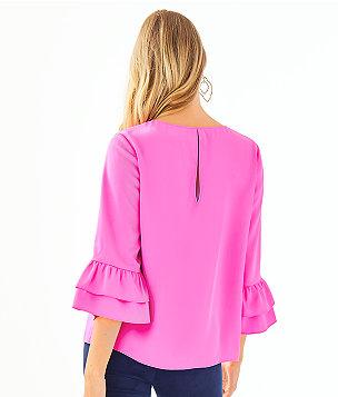 Christie Top, Mandevilla Pink, large