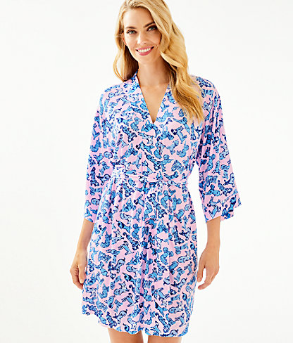 Lina Robe, Zanzibar Blue Ruff Night, large 0