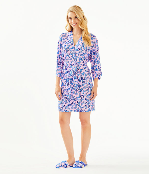 Lina Robe, Zanzibar Blue Ruff Night, large