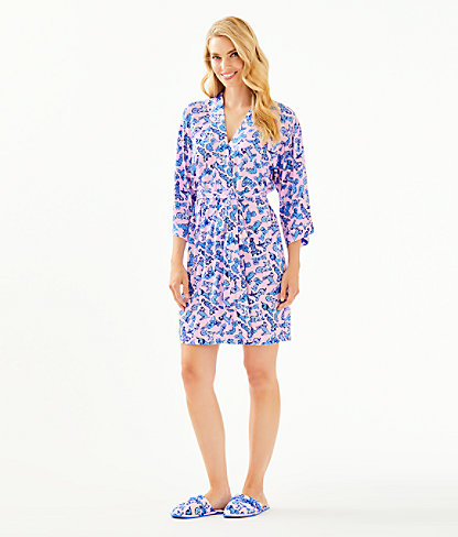 Lina Robe, Zanzibar Blue Ruff Night, large 3