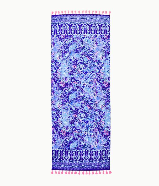 Resort Scarf, Lapis Lazuli Cosmic Kismet Engineered Scarf, large