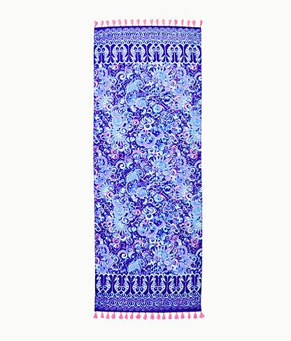 Resort Scarf, Lapis Lazuli Cosmic Kismet Engineered Scarf, large 2
