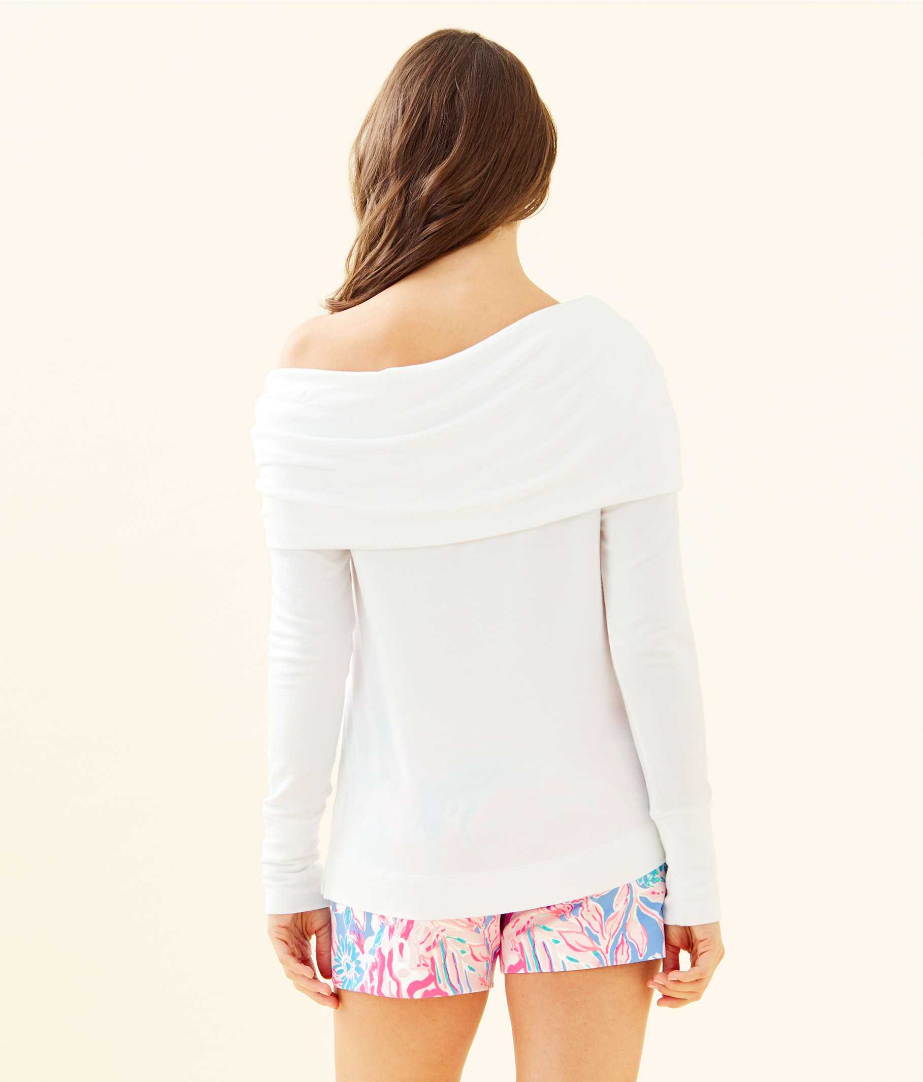 b582b9821b Belinda One-Shoulder Pullover | 003379 | Lilly Pulitzer
