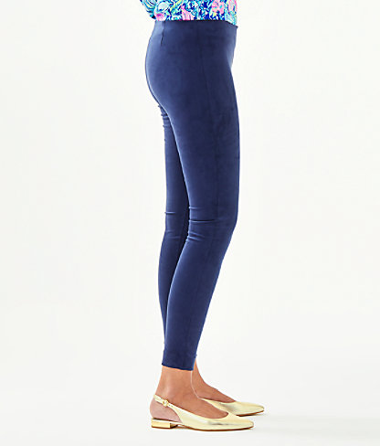 "29"" Anika Ultra Suede Legging, True Navy, large 2"