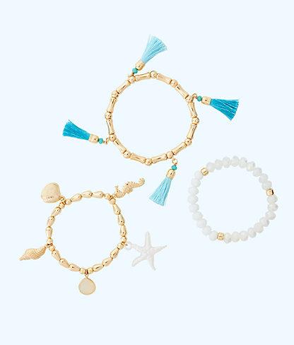 Shells Bells Bracelet Set by Lilly Pulitzer
