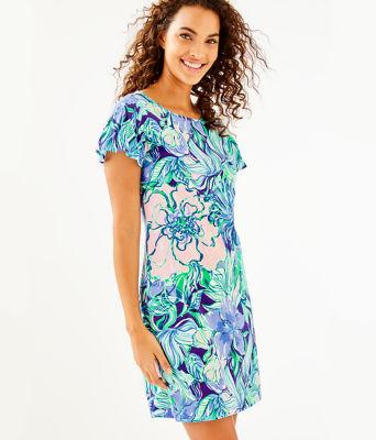 Marah Dress, Multi Party Thyme, large