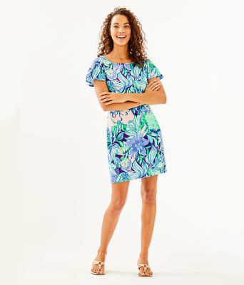 Marah Dress, Multi Party Thyme, large