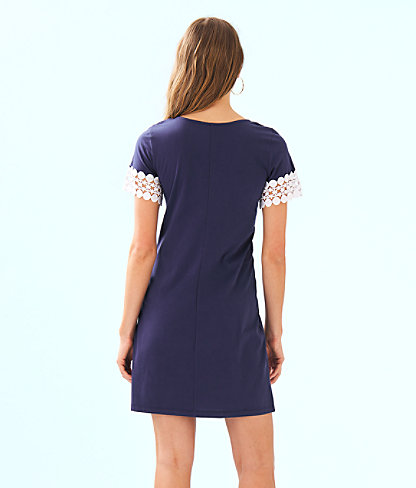 Hayes Dress, True Navy, large 1