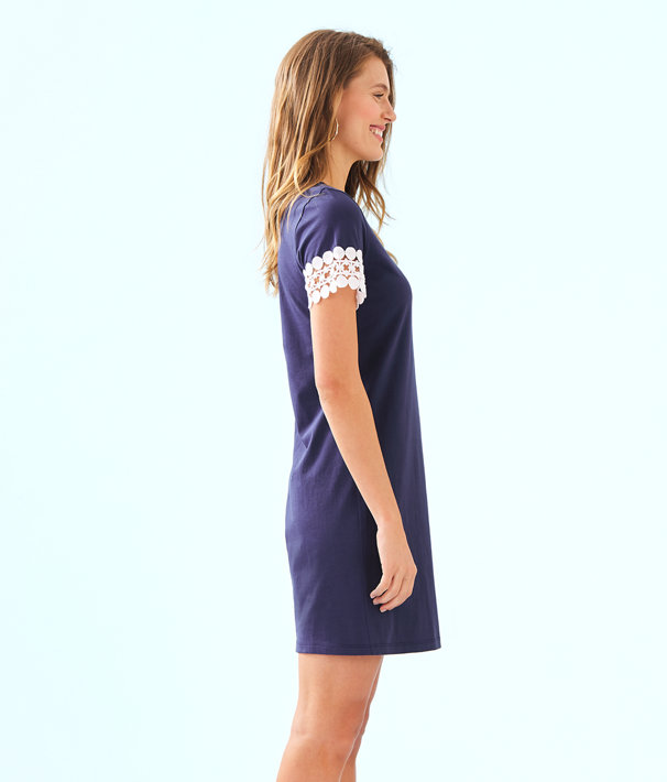 Hayes Dress, True Navy, large