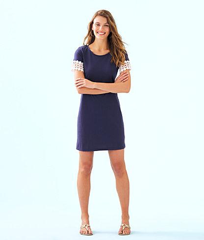 Hayes Dress, True Navy, large 3