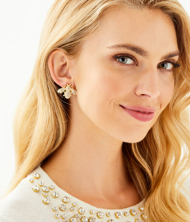 Bee-utiful earrings
