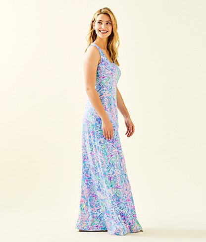 Treena Maxi Dress, Multi All Together Now, large 2