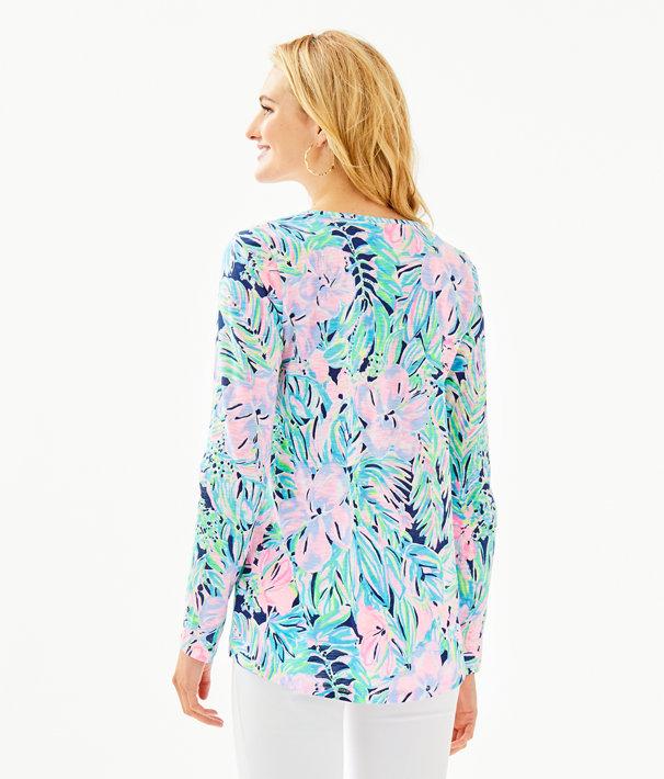 Etta Long Sleeve Top, Multi Bermudaful, large