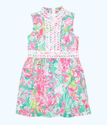 Girls Mini Franci Dress, Multi Hot On The Scene, large